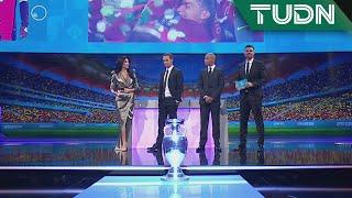 ¡En las mejores manos! Carvalho y João Mario presentan la copa   Eurocopa 2020   TUDN