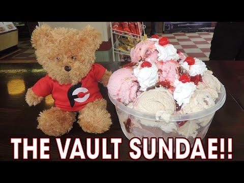 UNDEFEATED Ice Cream Challenge 20 Scoop Sundae!!
