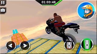 GT Bike Racing 3D Android Gameplay - Motorbike Stunts Game