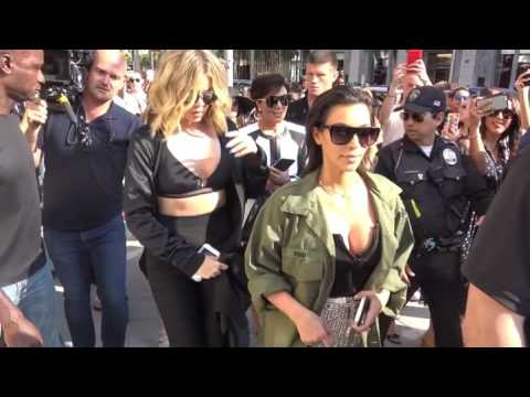 Khloe Kardashian, Kim Kardashian and Kris Jenner shopping Rodeo Drive in Beverly Hills #2