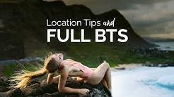 Location Tips and Hawaii Photoshoot BTS!!! - Lighting, Posing, Communication