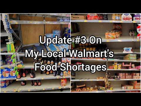 Empty Shelves | Food Shortages | Prepping | Prepper | 2021