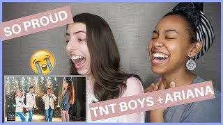 Ariana Grande Surprises TNT Boys f/ 'The World's Best' (REACTION)