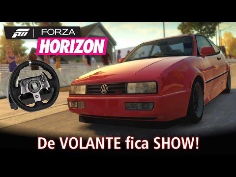 De VOLANTE fica SHOW! =D | Forza Horizon no Xbox One + Logitech G920 [PT-BR]