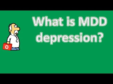 What Is MDD Depression ? | Health News And FAQ