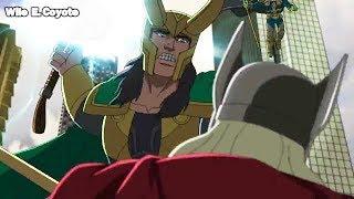 Loki Consigue el Martillo de Thor  ♦ Hulk y los Agentes de Smash T02E20 ♦ Español Latino