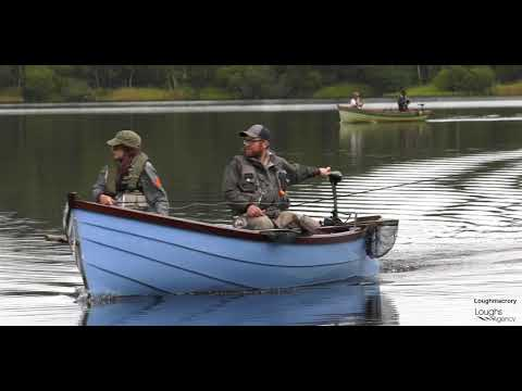 Trout Fishing On Loughmacrory, County Tyrone, Northern Ireland