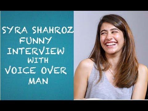 Syra Sheroz Funny Interview wi - VamosDotPK
