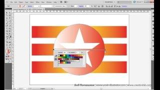 Adobe Illustrator. Урок 7. Работа с градиентами. (Бориса Поташника)