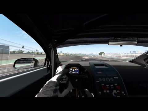 Project CARS: Aston Martin Rapide Hydrogen S @ Dubai Autodrome