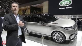 Range Rover Velar [SALON GENEVE 2017] : dévoilé en première