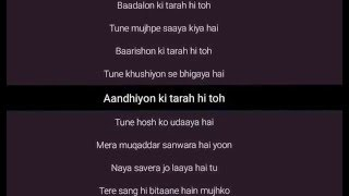 SANAM RE LYRICS (Title Song) - Arijit Singh, Mitho