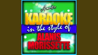 Right Through You (In the Style of Alanis Morissette) (Karaoke Version)