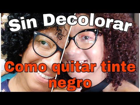 Cómo Quitar El Color Negro Del Cabello - Sin Decoloración 💡