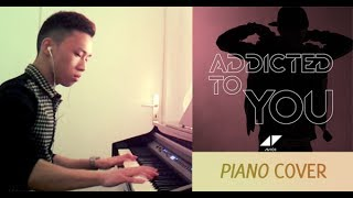 Avicii - Addicted To You (piano cover by Ducci, lyrics + MP3)