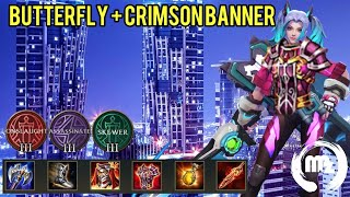 Tank butterfly op?? Arena of valor