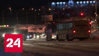 Осторожно, двери закрываются: автобус протащил женщину полтора километра