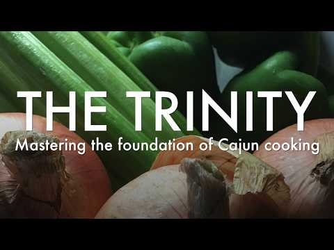'The Trinity': How onion, celery and bell pepper got that name