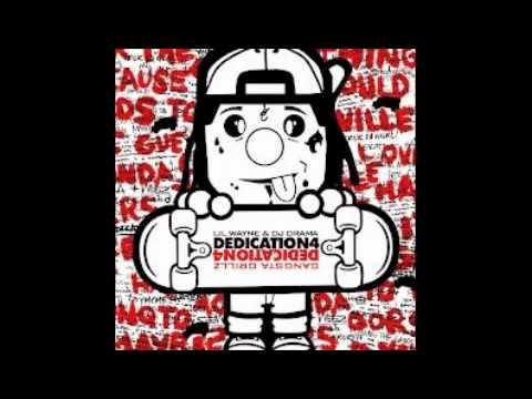 Lil Wayne ft J.Cole-Green Ranger w Lyrics (Dedication 4)