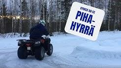 Pihahyrrä - Kymco 50 cc kevyt nelipyörä