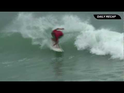 NICARAGUA ISA WORLD MASTERS SURFING CHAMPIONSHIP 2012 - 10 BEST WAVES DAY 5 VIDEO HIGHLIGHTS