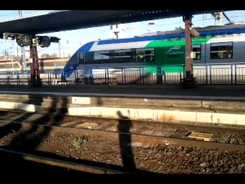 D part ter n 871208 toulouse matabiau figeac 16h37 youtube for Ter toulouse