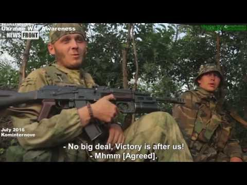 [Eng Subs] Intense Battle of Kominternove. RAW Ukraine War July 2016!