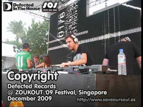 House Music: Defected Records and Copyright at Zoukout '09, Singapore