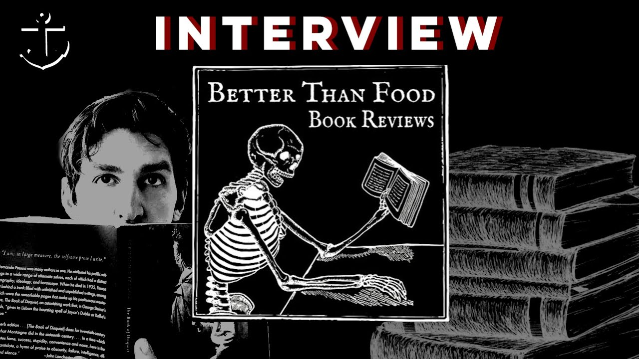 """Distraction is death"": A phone call with BETTER THAN FOOD BOOK REVIEWS"