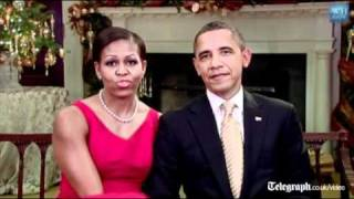 US President Barack Obamas thank troops in Christmas message