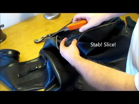 Drysuit Zipper Replacement