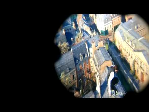 Assassin's Creed Unity Android VR Google Cardboard Samung S4 Head Tracking Trinus Gyre Setup