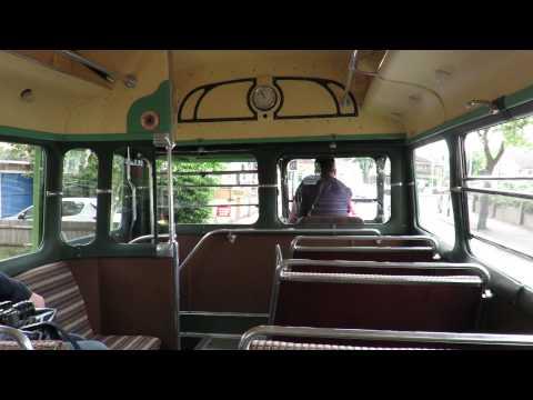 Vintage Green Line ride aboard 1938 AEC Regal O662 T499 (ELP 223)