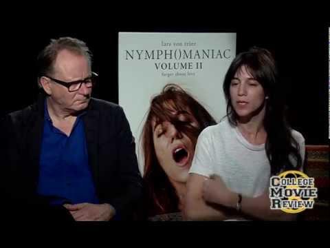Nymphomaniac: Vol. II: Stellan Skarsgård, Charlotte Gainsbourg Interview