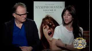 Nymphomaniac: Vol. II: Stellan Skarsgård, Charlotte Gainsbourg Interview