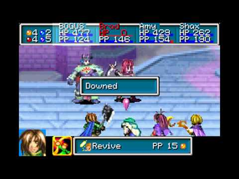 Golden Sun 2 - The Lost Age - Boss: Agatio and Karst