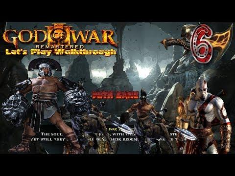 God Of War 3 ReMastered | Let's Play Walkthrough - Pt. 6 - Hercules Fight & Temple