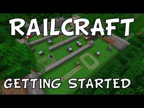 Railcraft: Getting Started