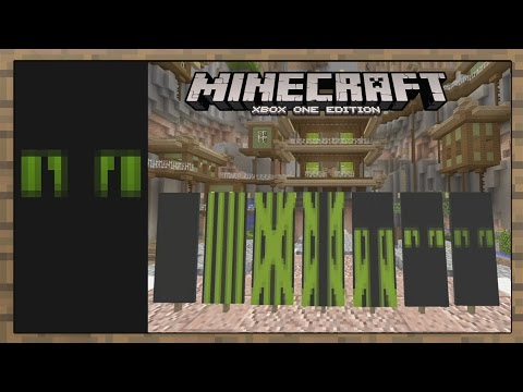 how to make a banner in minecraft xbox 360