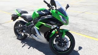 2016 Kawasaki Ninja 650 Review  - Best Beginner Sportbike!?