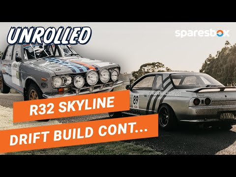 R32 Skyline Build Continues + SR20 Swapped Datsun! Unrolled Ep 10