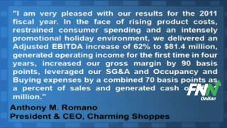 Charming Shoppes Reports Mixed Earnings For Q4