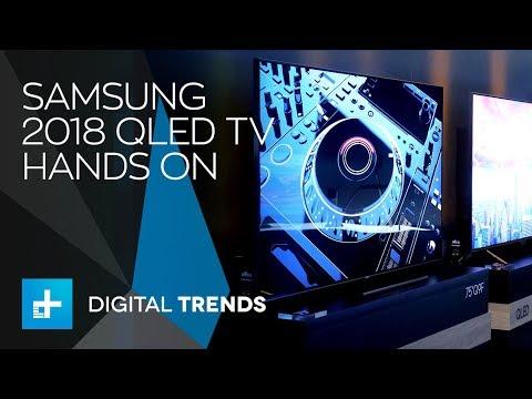 Samsung 2018 Qled Tv Q9f Hands On Youtube