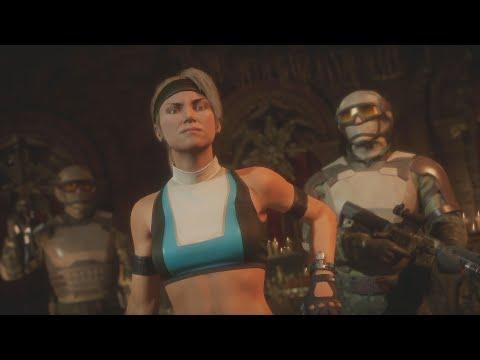 MK11: FoxZer0(Erron Black, Sonya Blade) Vs Maggot-_-Scum(Johnny Cage, Kano, D'Vorah) FT5