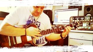 Knaggs Guitar On Fire !!!