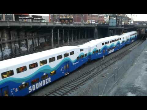 Sounder commuter rail North Line シアトル・サウンダーコミューターレール