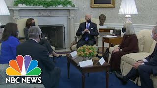 Fewer Americans Will Receive Direct Payments In Senate's Covid Relief Bill | NBC Nightly News