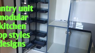 Kitchen pantry unit modren design