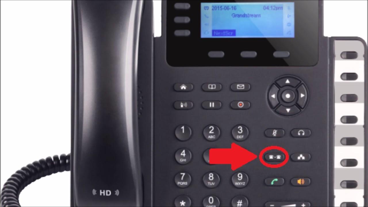 granstream 1620 how to transfer call