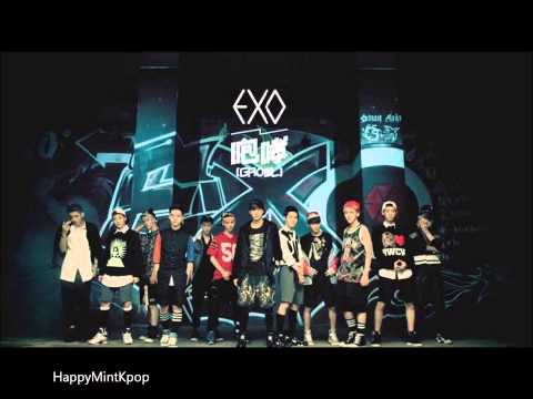[Full Audio/MP3 DL] EXO- Growl (Chinese ver.+ MP3 for Korean. ver.) HD